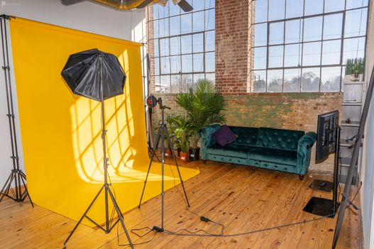 You can control many things when shooting images in a photo studio