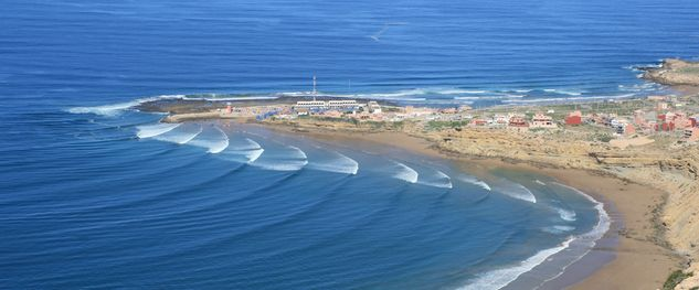 Best locations for surf camp in Morocco