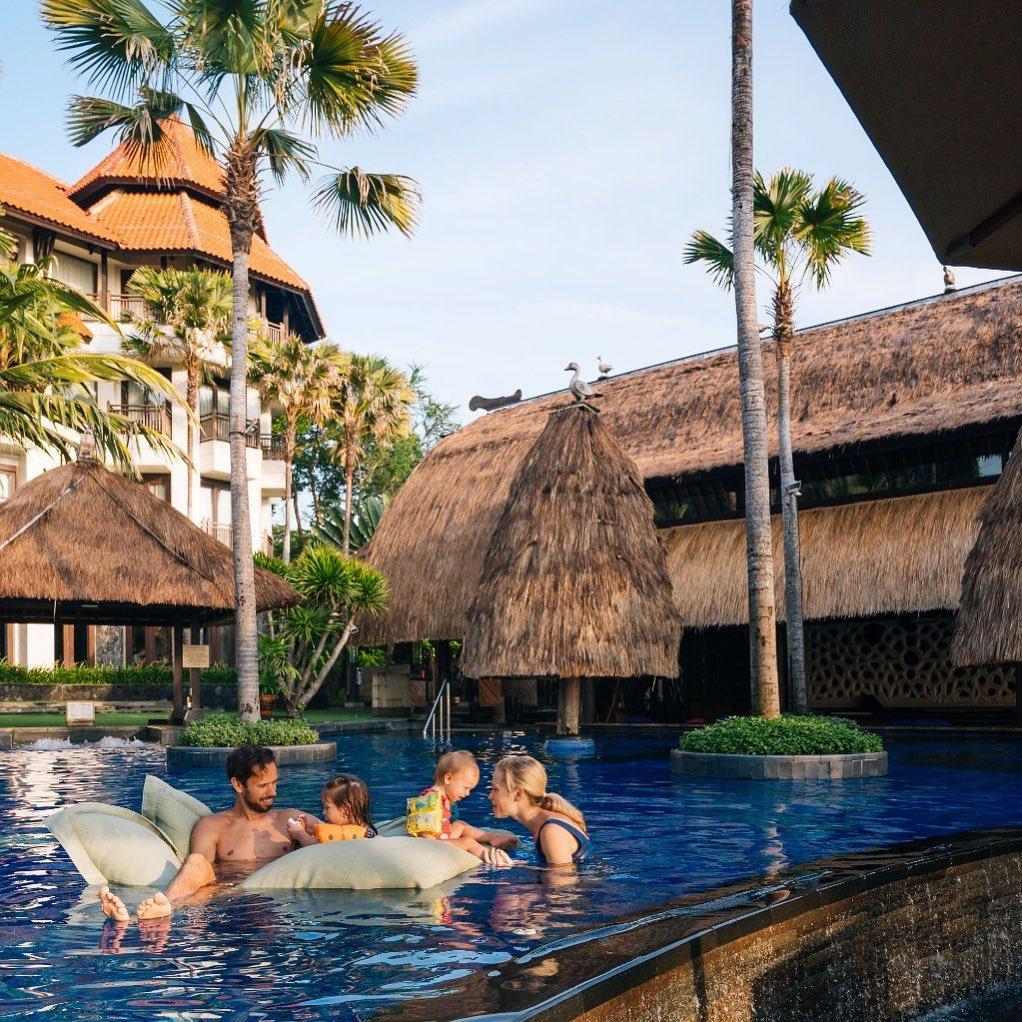 Surviving Family Holiday at Nusa Dua Beach Resorts